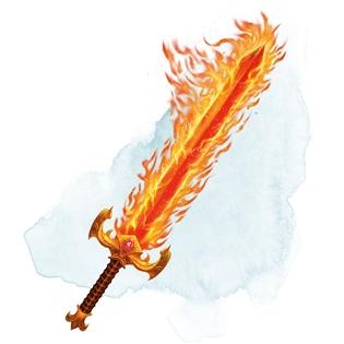 Flame Tongue Longsword